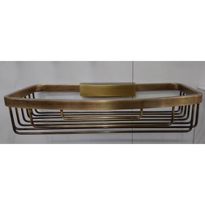 Полка решетка съемная Fuente Real Hestia бронза BCF-1T