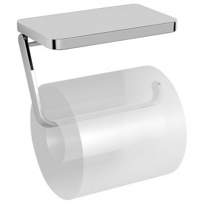 Держатель туалетной бумаги с полочкой Langberger 35041B