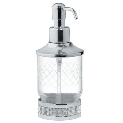 Дозатор настольный Boheme Royale Cristal хром 10929-CR