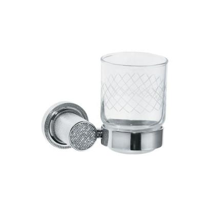 Стакан настенный Boheme Royale Cristal хром 10924-CR