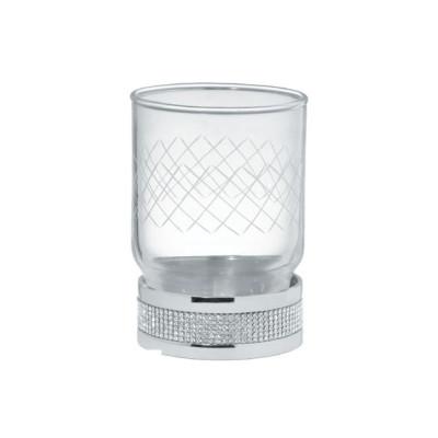 Стакан настольный Boheme Royale Cristal хром 10931-CR