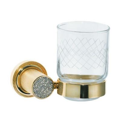 Стакан настенный Boheme Royale Cristal золото 10924-G